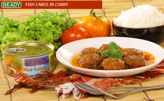 FISH CAKES IN CURRY