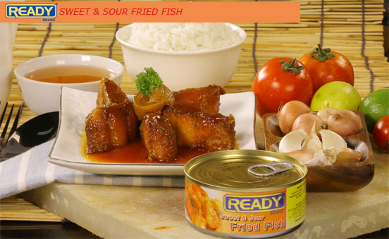 SWEET & SOUR FRIED FISH
